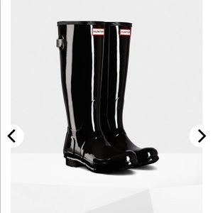 Hunter boots size 9 beautiful condition